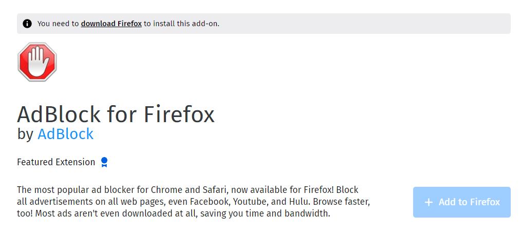 List Of Best Pop Up Blocker For Firefox- Great Browsing