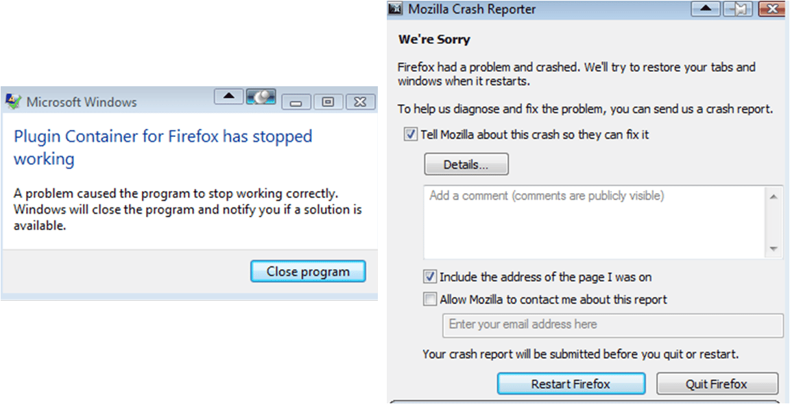 Adobe Flash Not Working On Firefox