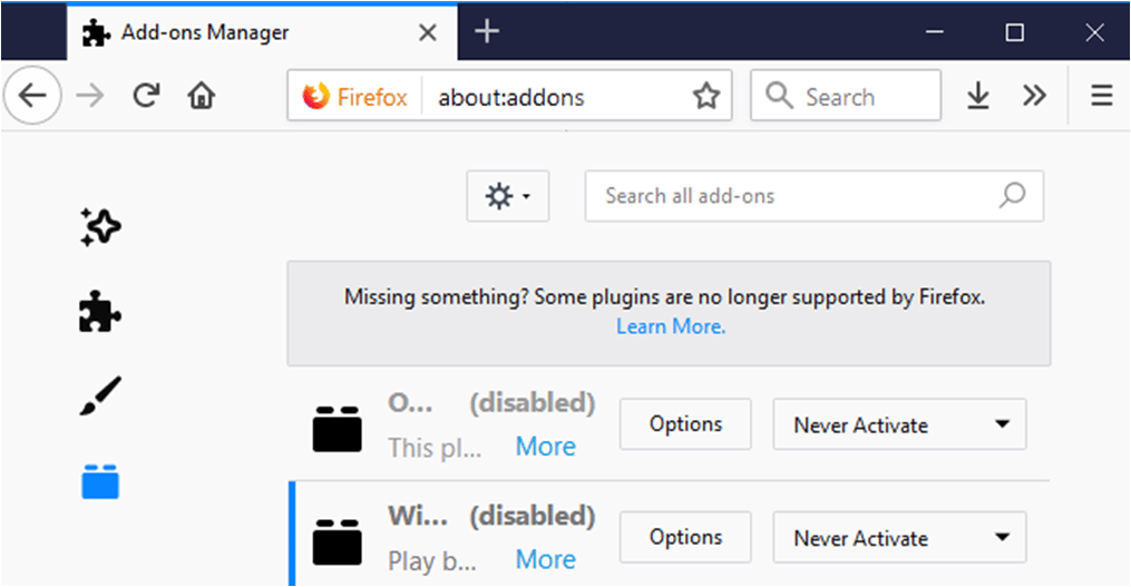 Solved] 'Plugin Container For Firefox Has Stopped Working' Error