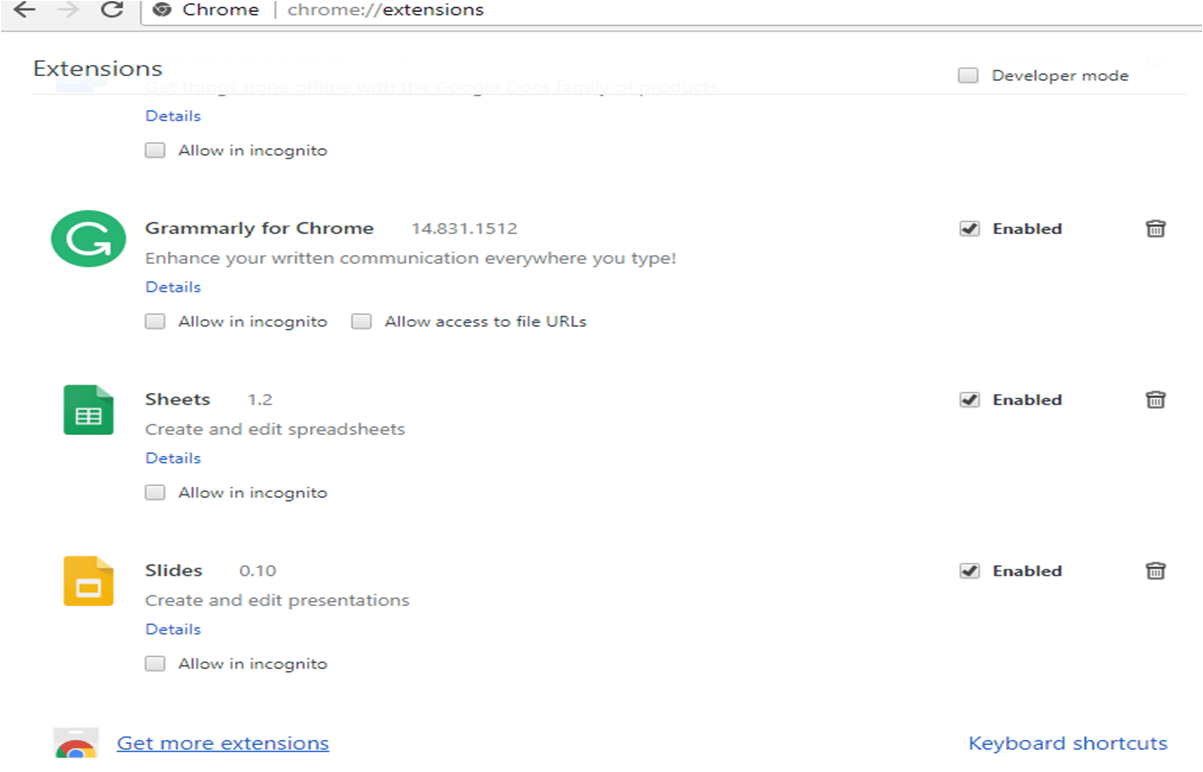 Add New Extension In Chrome