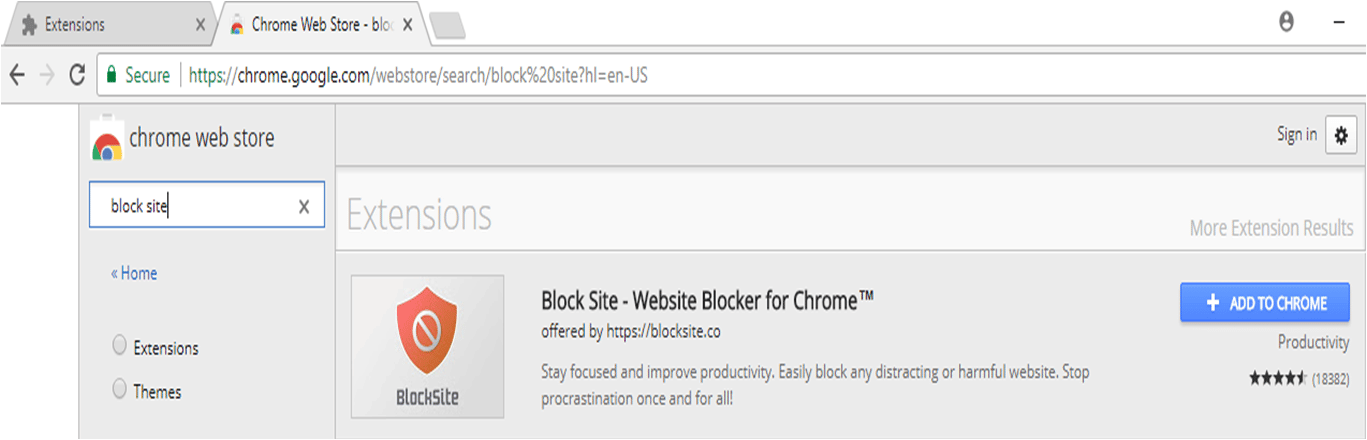 Block Site List