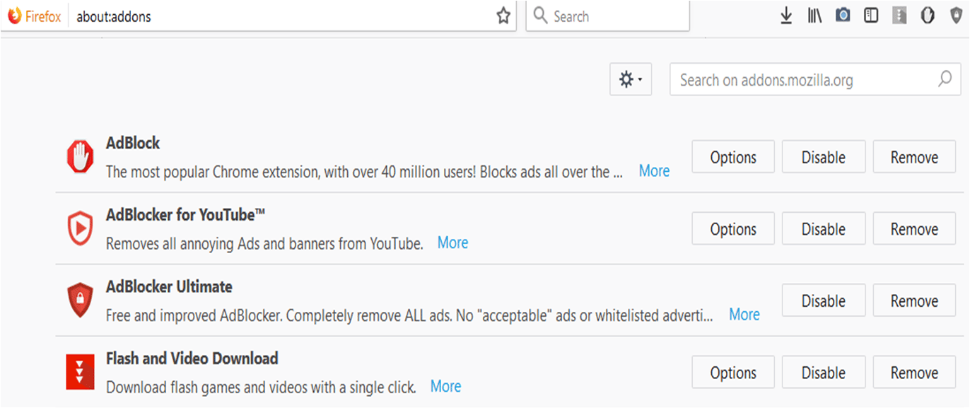 How To Disable AdBlock On Firefox?