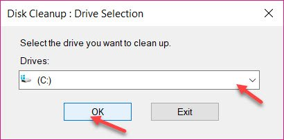 Drive Selection