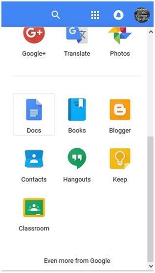 Google Docs Icon In Drive