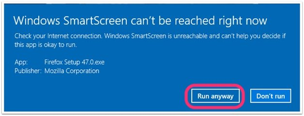 Windows_Smartscreen_Cant_Be_Reached_RIght_Now