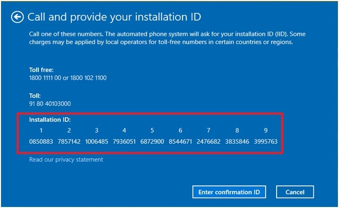 Call_And_Provide_your_installation_id