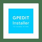 GP Edit Installer