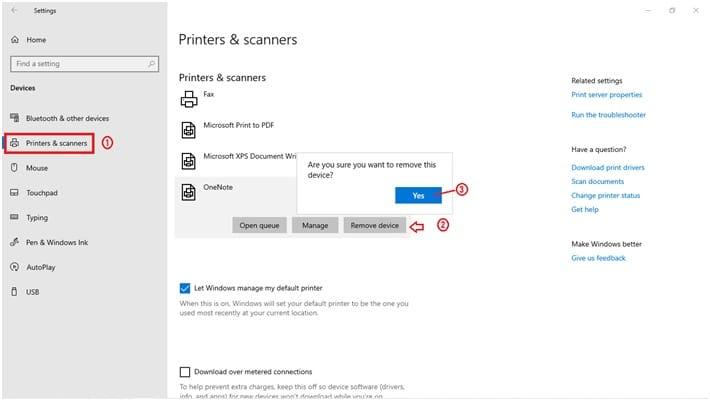 Disable Onenote Windows 10