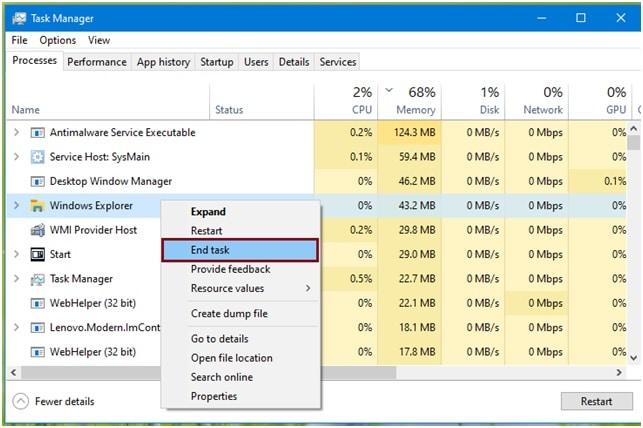 How To Fix Explorer Exe Class Not Registered Windows Error