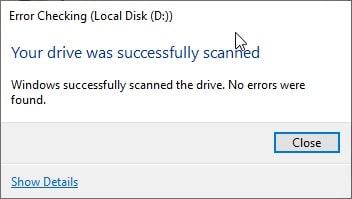 Error_Checking_Local_Disk