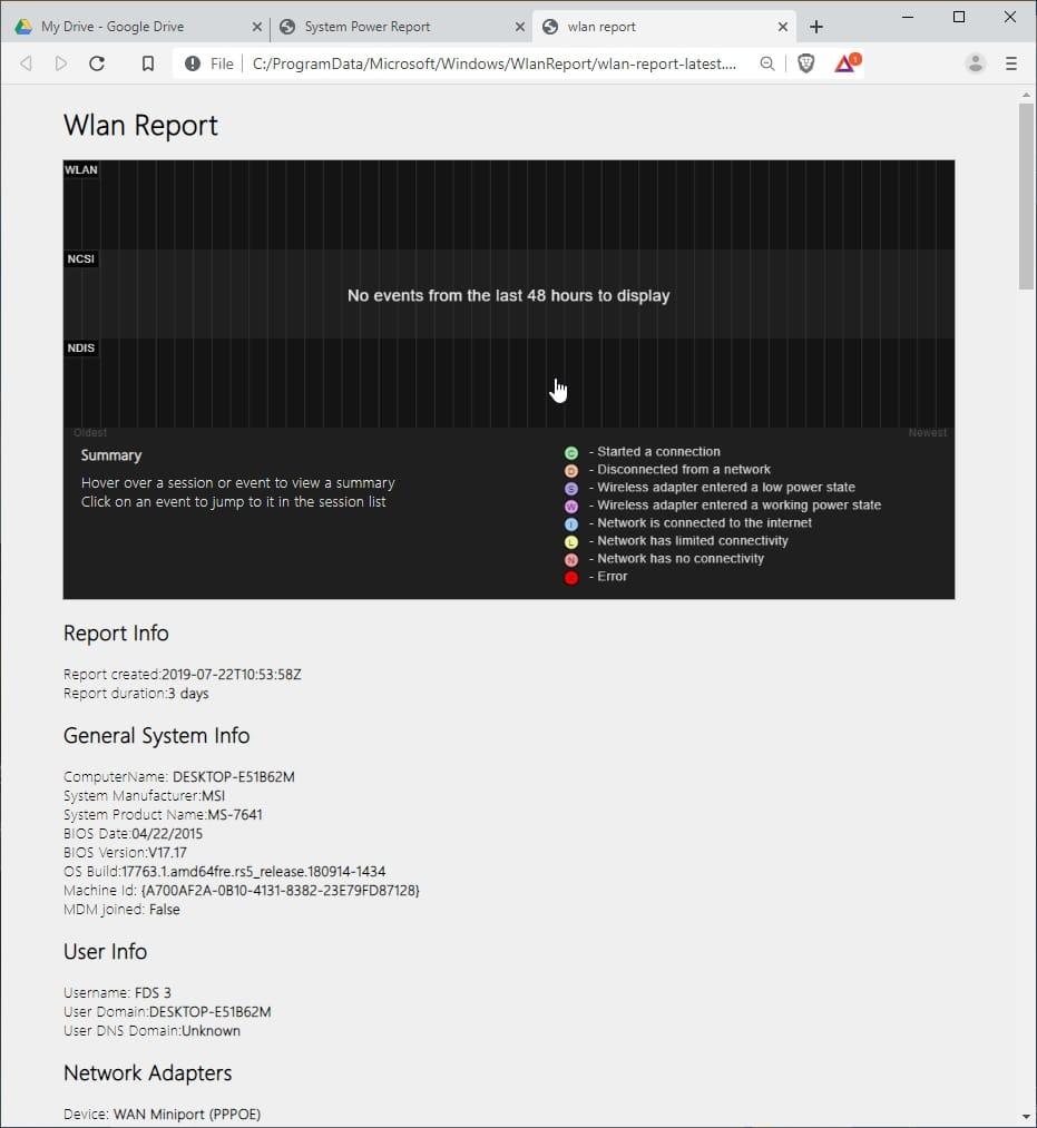 Wlan_report