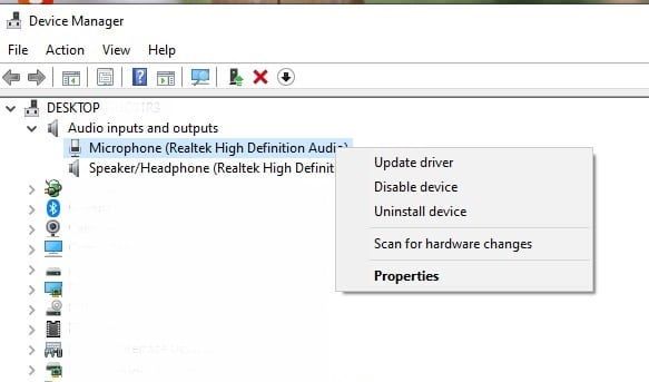 Microphone_Device_manager