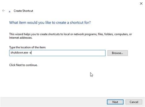 shutdown_shortcut