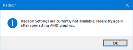 Radeon_Settings_are_currently_not_available