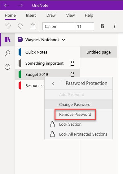 remove_password