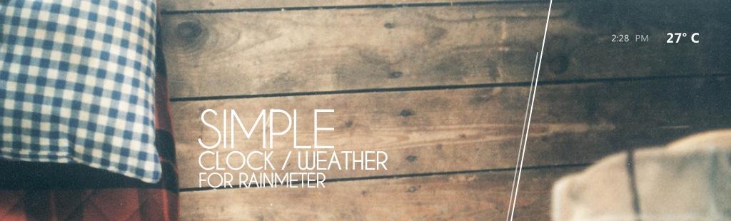 simple_rainmeter