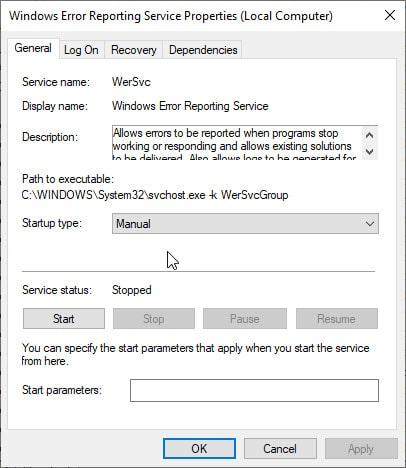 webmgr_error_reporting_service