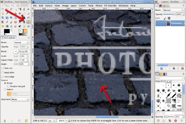 gimp_watermark_remover