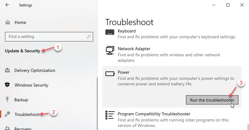 power_troubleshooter