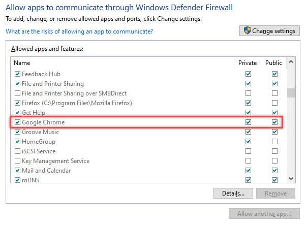 Chrome_allow_app_through_firewall