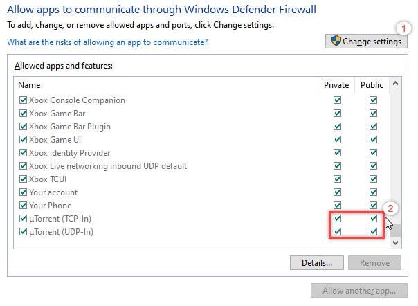 allow_utorrent_through_firewall