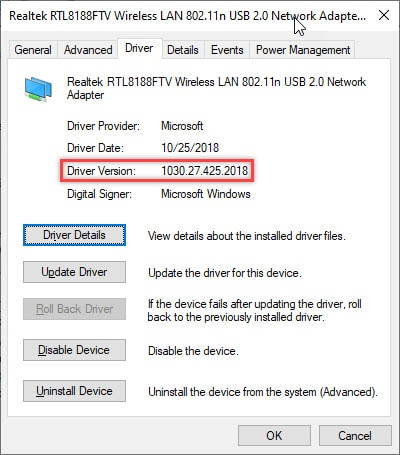 driver_version