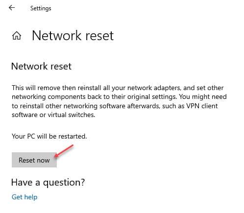 network_reset