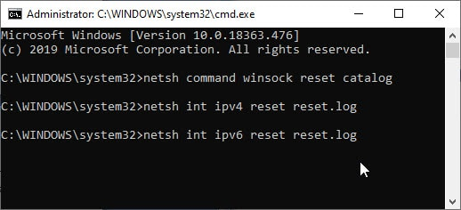 reset_network_config