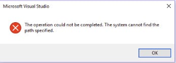 system_cannot_find_the_path_specified