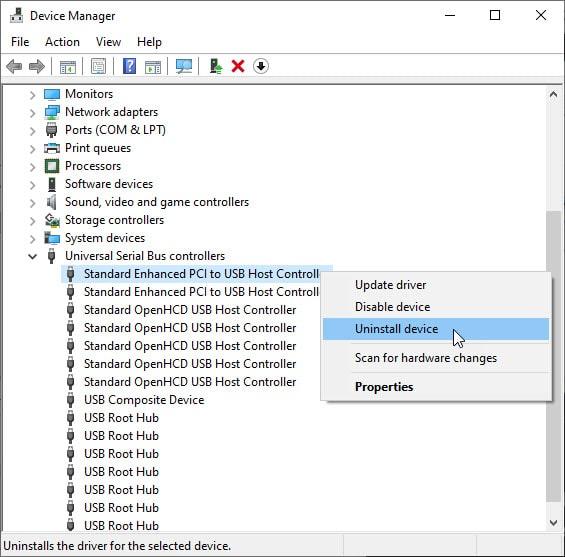 uninstall_usb_controller