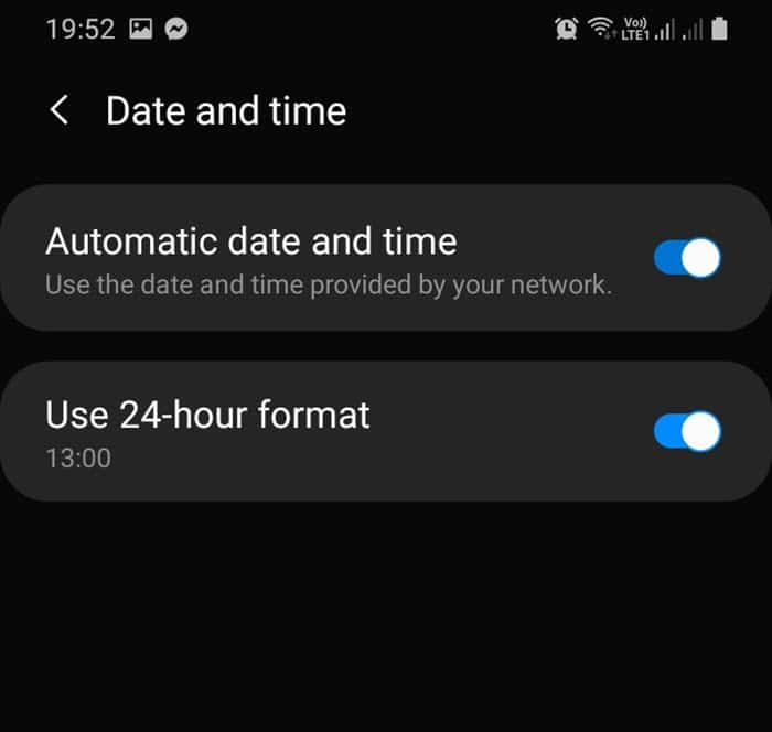 automatic_date_and_time
