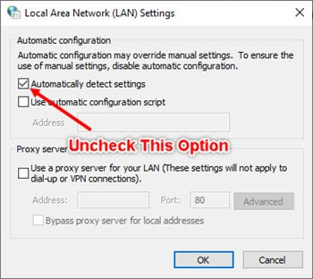 Uncheck_automatically_detect_LANsettings