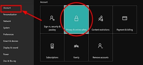 Xbox_Privacy_and_online_safety_option