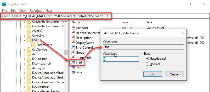 registry_offline_files_CSC_key