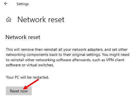 Reset_network_connection