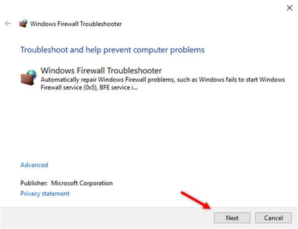 Windows_firewal_troubleshooter