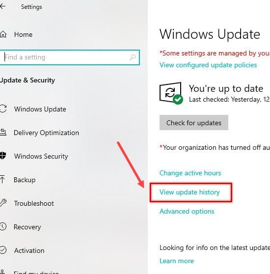 Windows_firewall_view_update_history