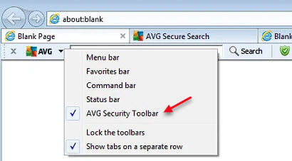 disable_AVG_security_toolbar