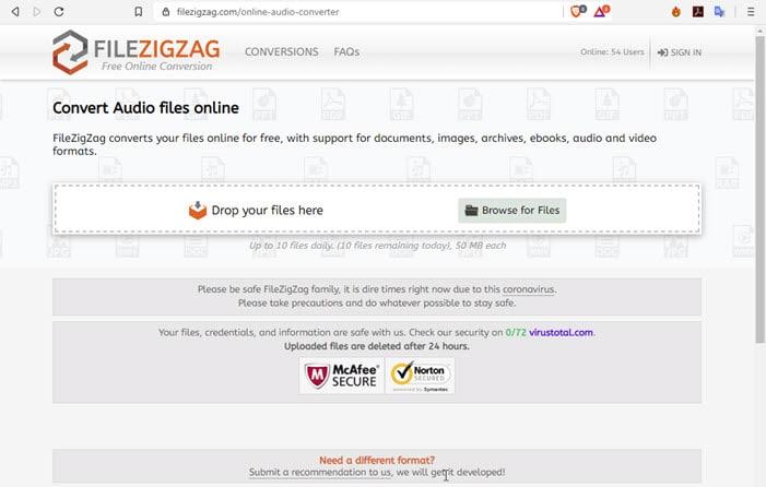 filezigzag_audio_converter