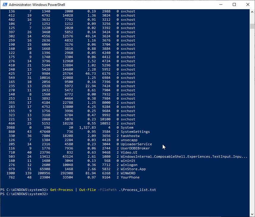 powershell_get_process_out_file