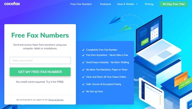Free FAx Numbers