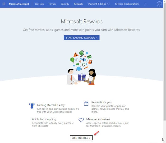 microsoft_rewards_join_for_free