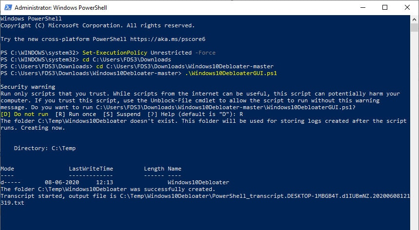 using_windows10_debloater