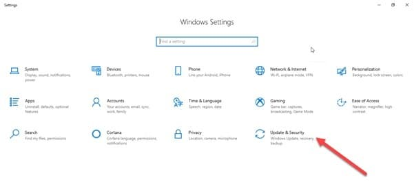 Update_security_in_settings