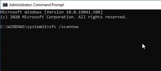 Windows_Sfc_Scan Now