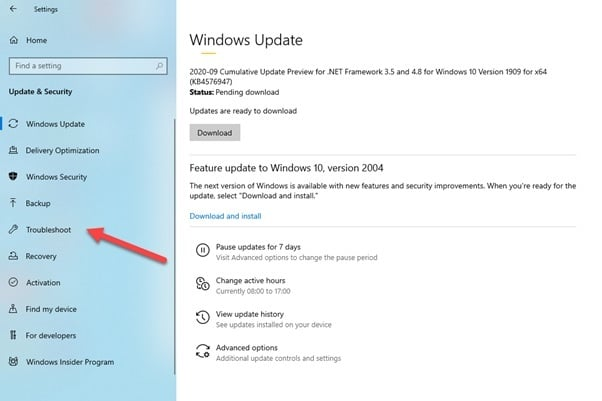 Windows_troubleshoot