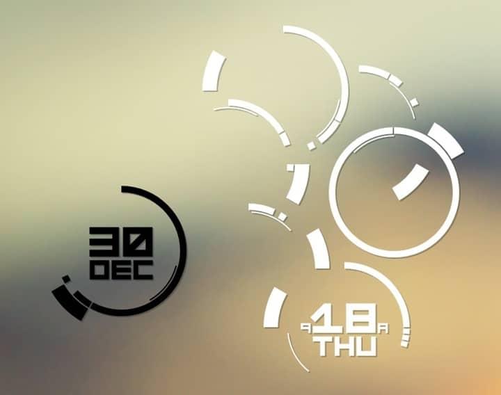 Polar_precise_rainmeter_skin