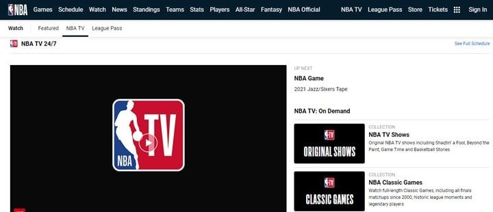 NBAstream.tv