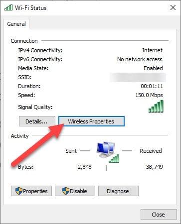 Wireless Properties