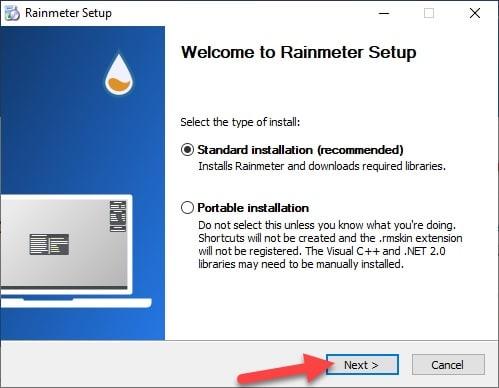 Rainmeter_installation